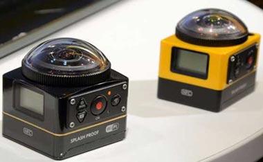 PIXPRO SP360 4K، دوربین جدید کداک با قابلیت تصویربرداری 360