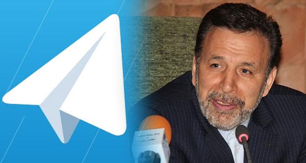 وزیر ارتباطات : تلگرام فیلتر نخواهد شد