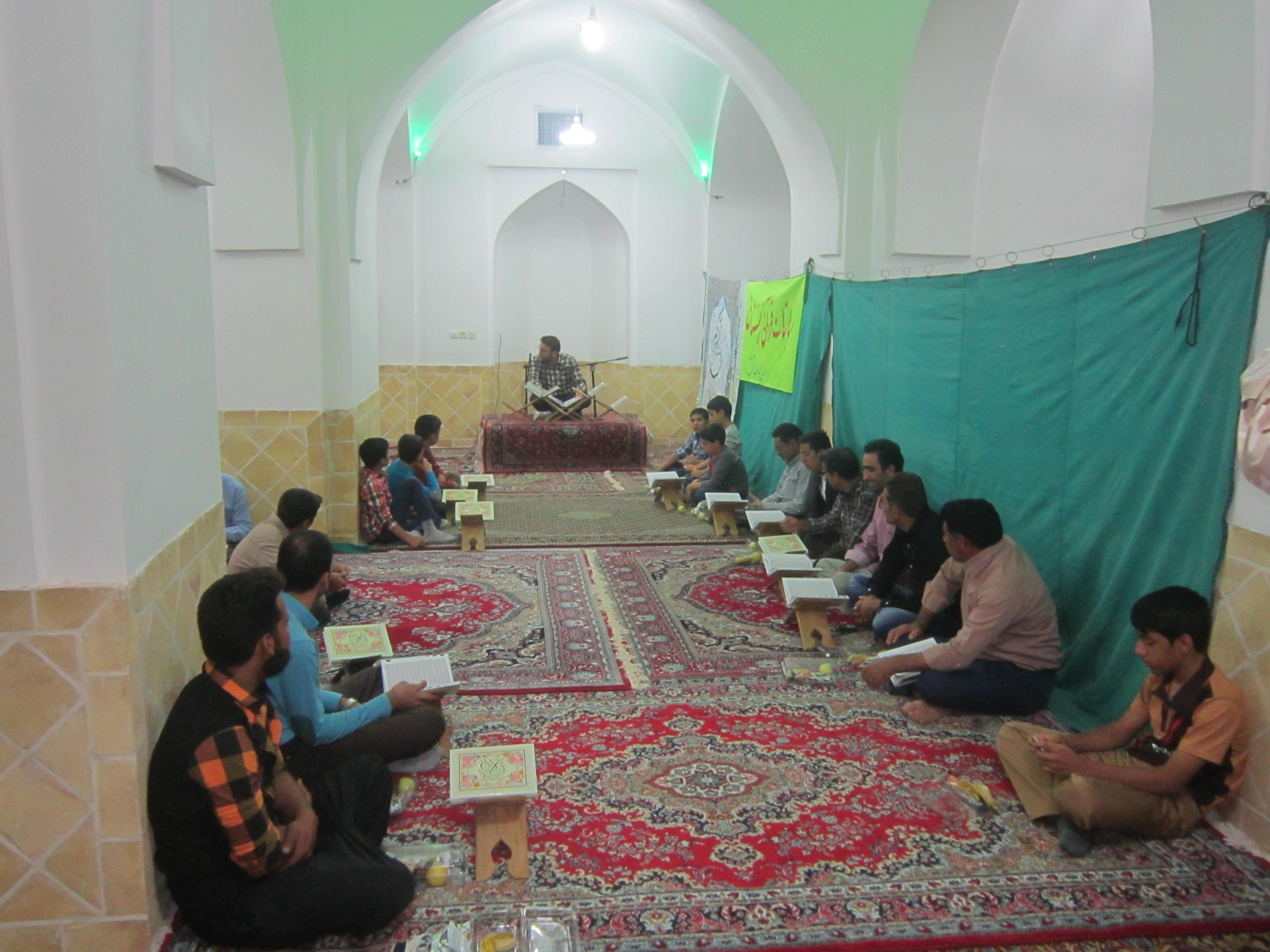 تصاویردومین دوره ی مسابقات قرآنی درشرف آباد