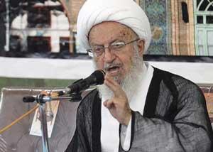 آیت الله مکارم شیرازی: برخی بی خبران می گویند حالا یک ذره موی زن پیدا باشد، آسمان به زمین نمی آید / تح