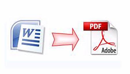 دانلود نرم افزار تبدیل فایل Word به PDF