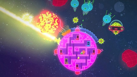 دانلود بازی Lovers in a Dangerous Spacetime برای PC