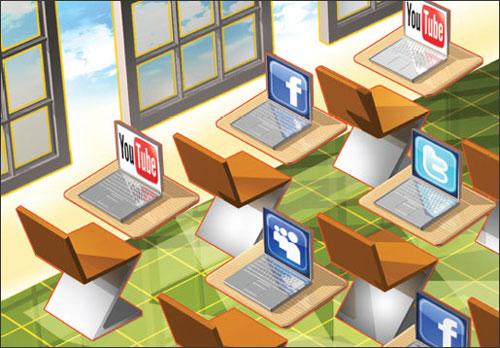 آغاز سال تحصیلی با طعم شبکه های اجتماعی