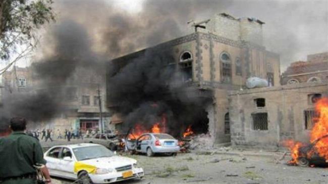 حمله داعش به مسجد شیعیان در یمن