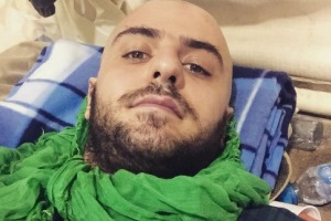 عکس و متن تکان دهنده علی ضیا از حادثه ی دلخراش منا