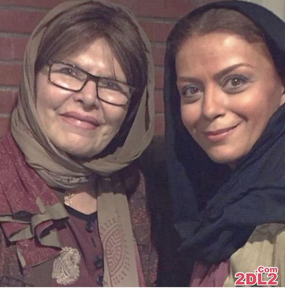 سلفی بازیگر زن با مرحومه هما روستا + عکس