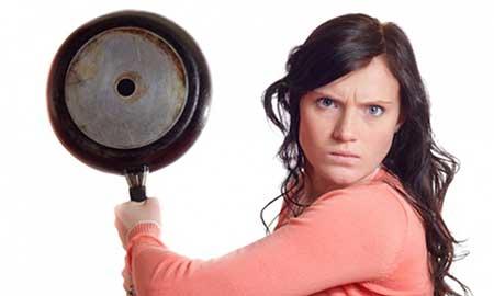 با تهي بودن از خشم، شادي از آن شماست
