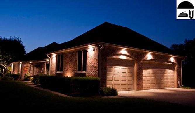 انواع نورپردازی ساختمان