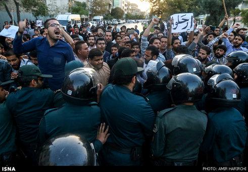 عکس های تجمع مردم مشهد مقابل کنسول گری عربستان