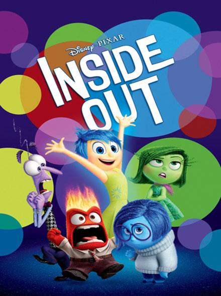 دانلود انیمیشن وارونه Inside Out 2015