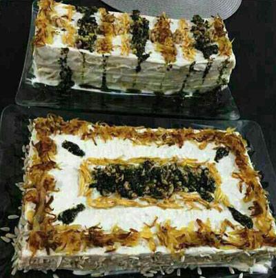 طرز تهیه کیک کشک و بادمجان