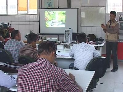 آموزش بیش از صد و هشتاد هزار نفر ساعت، امسال در کارگاههای فنی و حرفه ای مهاباد