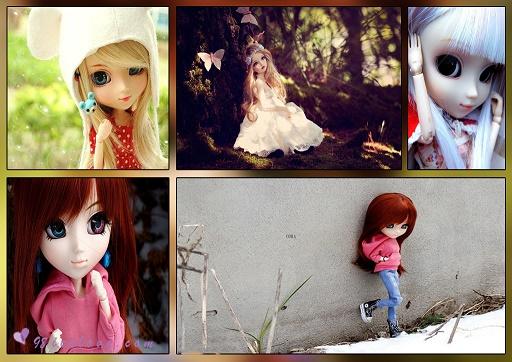عکس های فانتزی و عاشقانه عروسکی با کیفیت بالا