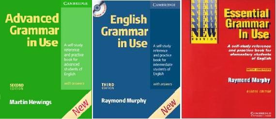کتاب های گرامر english grammar in use