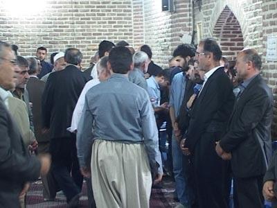 مراسم یاد بود بیست وچهار جان باخته کاروان مهاباد فردا در مسجد جامع
