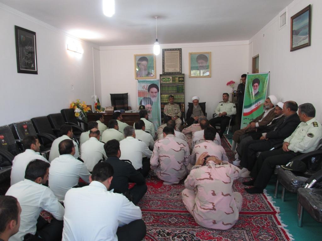 دیدار نیروهای نظامی وانتظامی با امام جمعه محترم