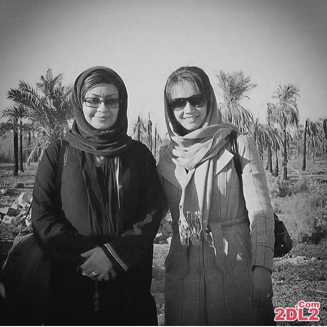 عکس شبنم قلی خانی در کنار چیستا یثربی در جنوب
