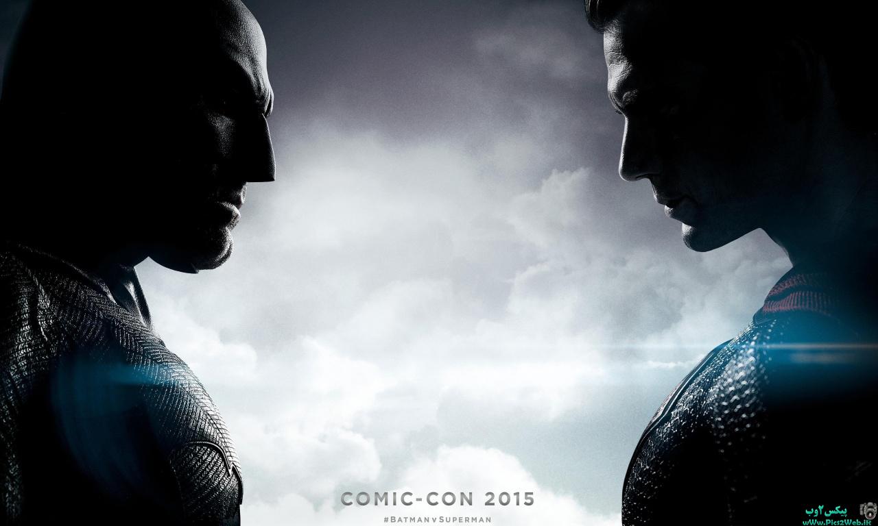 عکس HD بتمن علیه سوپر من(batman vs superman)