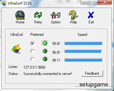 دانلود نرم افزار ultra surf آخرین نسخه