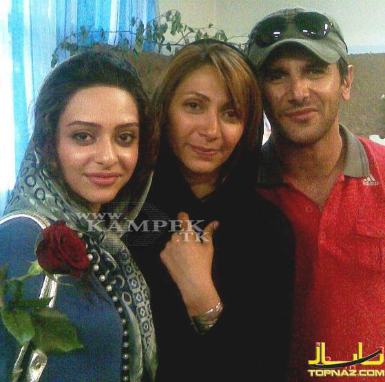 عکسهای زیبا وجالب از بازیگران ایرانی کنار همسرشان