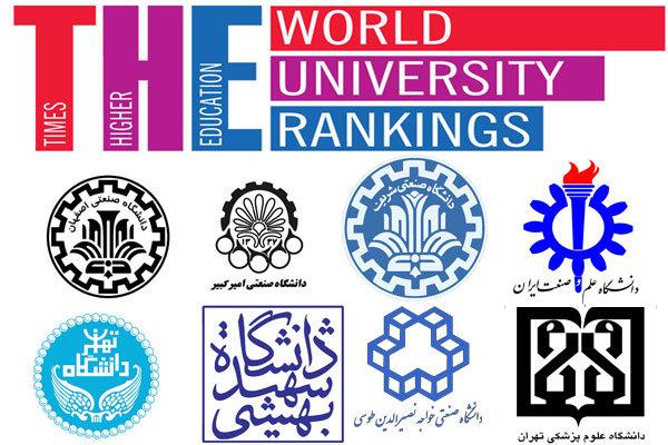 نتایج رتبه بندی تایمز اعلام شد: ۸ دانشگاه ایرانی در بین ۸۰۰ دانشگاه برتر دنیا