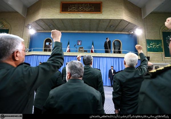 بیانات در دیدار فرماندهان و کارکنان نیروی دریایی سپاه پاسداران انقلاب اسلامی و خانوادههای آنان