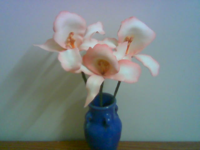 آموزش ساخت گل بلندر ارکیده
