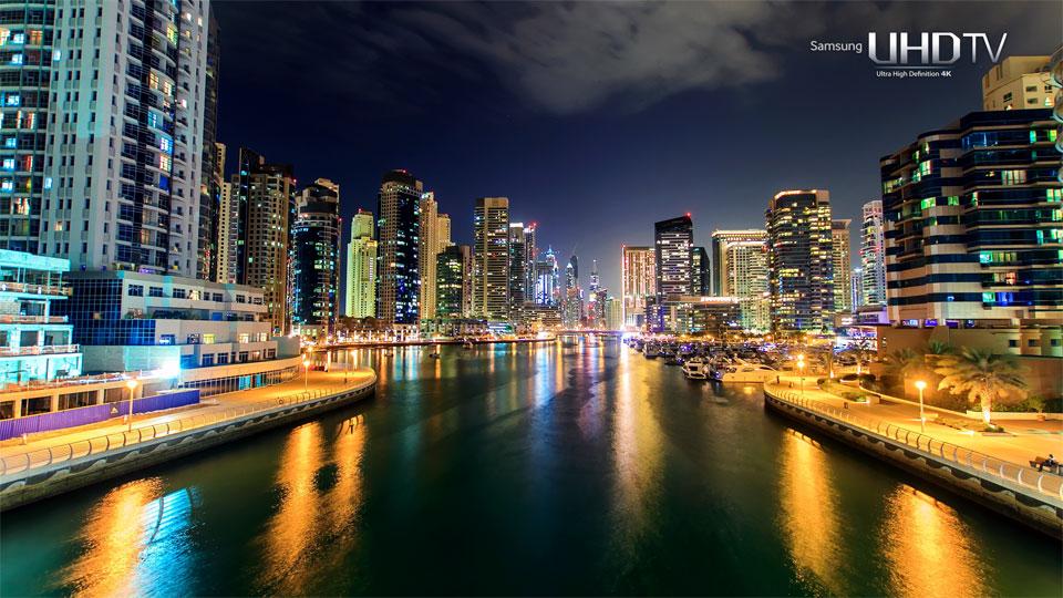 دانلود کلیپ Samsung SUHD- Dubaï با کیفیت خارق العاده 4K ULTRA HD