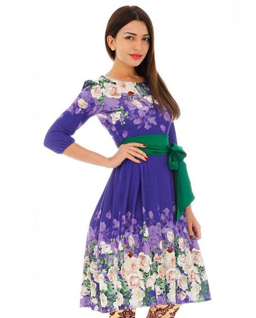 مدل های لباس مجلسی در رنگ های شاد و طرح جديد 2016