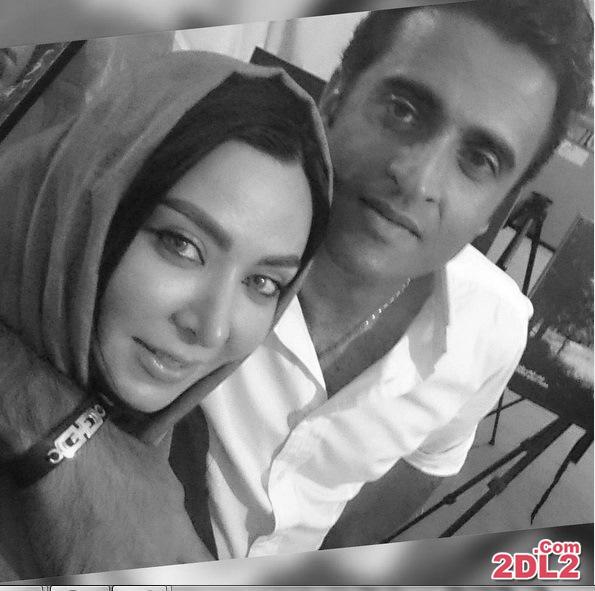 عکس جدید فقیهه سلطانی و همسرش