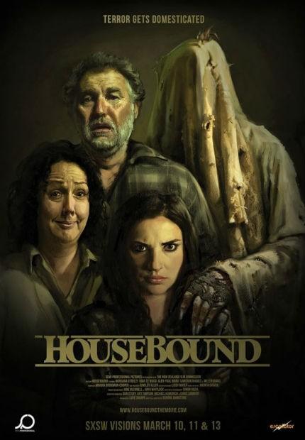 دانلود دوبله فارسی فیلم زمینگیر Housebound 2014