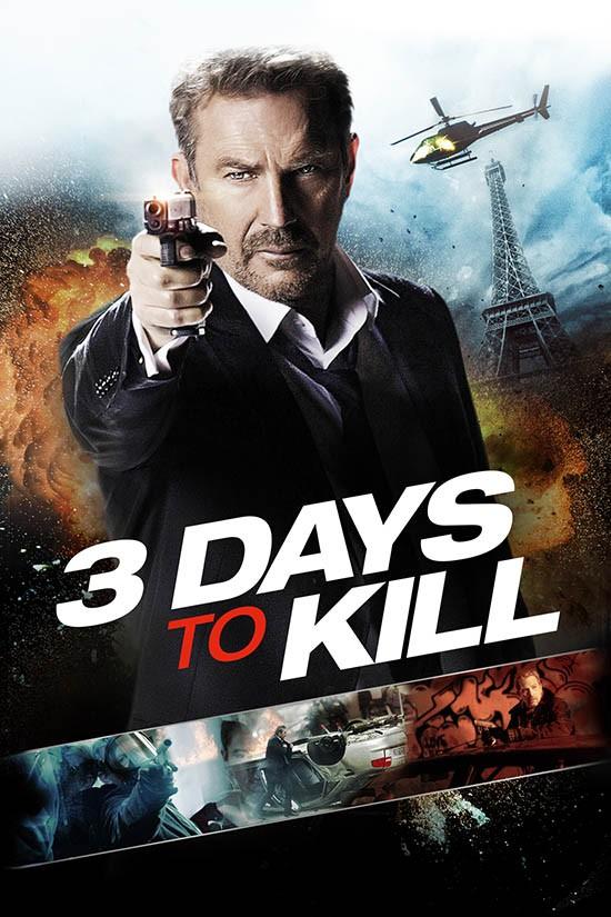 دانلود دوبله فارسی فیلم 3 روز برای کشتن 3Days to Kill 2014