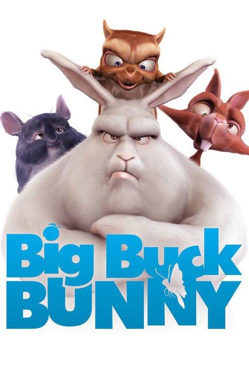 دانلود انیمه big buck bunny 2008 با کیفت خارق العاده 4k ultra hd 3d سه بعدی