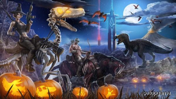 با بروزرسانی جدید بازی ARK: Survival Evolved به استقبال هالووین بروید