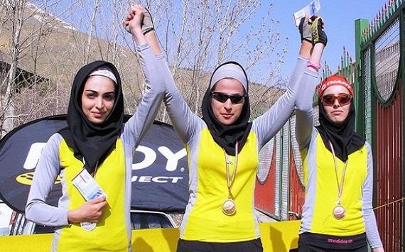 بانوی دوچرخه سوار کردستانی مدال برنز لیگ دوچرخه سواری کشور را کسب کرد