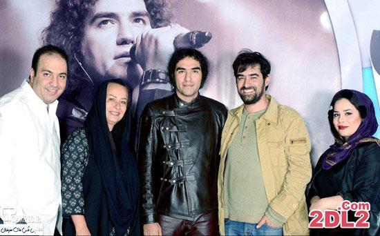 حضور ملیکا شریفی نیا به همراه مادرش در کنسرت رضا یزدانی