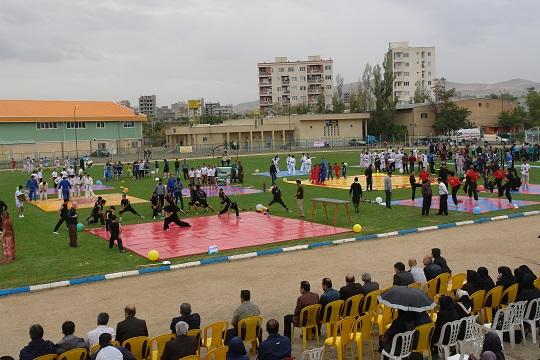 برگزاری جشنواره بزرگ ورزشی در سقز