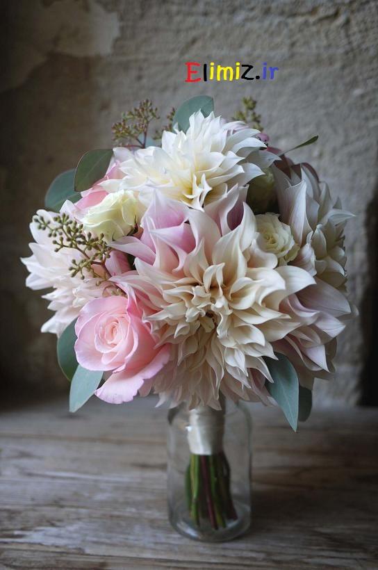 خوشگلترین دسته گل عروس
