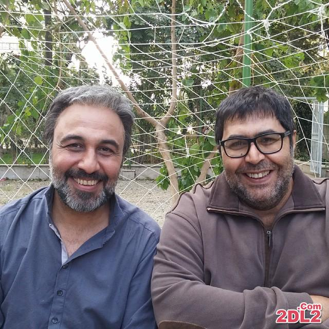 عکس جدید منتشر شده فرهاد اصلانی در کنار رضا عطاران