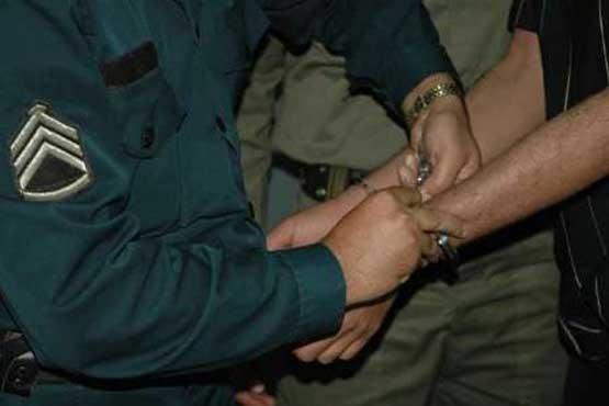 منصور دست کج پایتخت دستگیر شد
