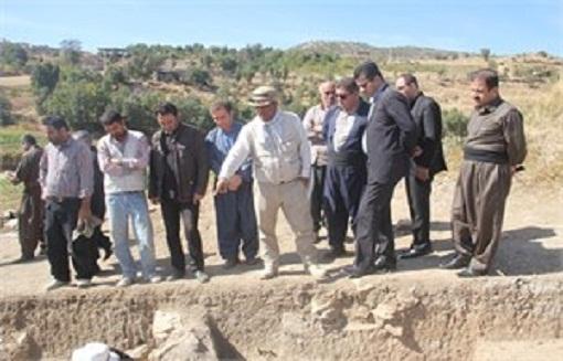 کشف آثاری مربوط به شش هزارسال قبل از میلاد در سردشت