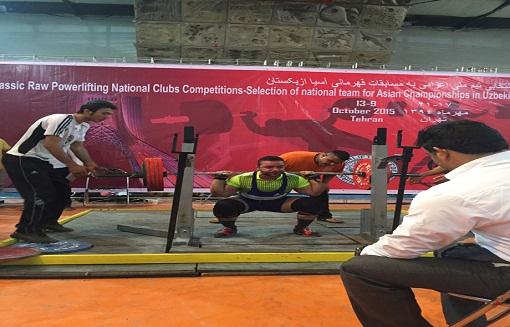 ورزشکار بوکانی به اردوی تیم ملی پاورلیفتینگ کشور دعوت شد