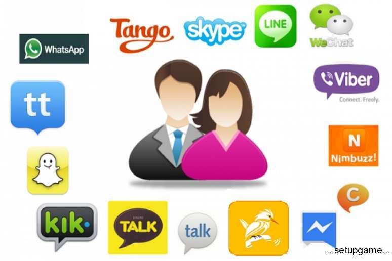درآمد اپلیکیشن های پیام رسان مانند WhatsApp و WeChat چقدر است؟