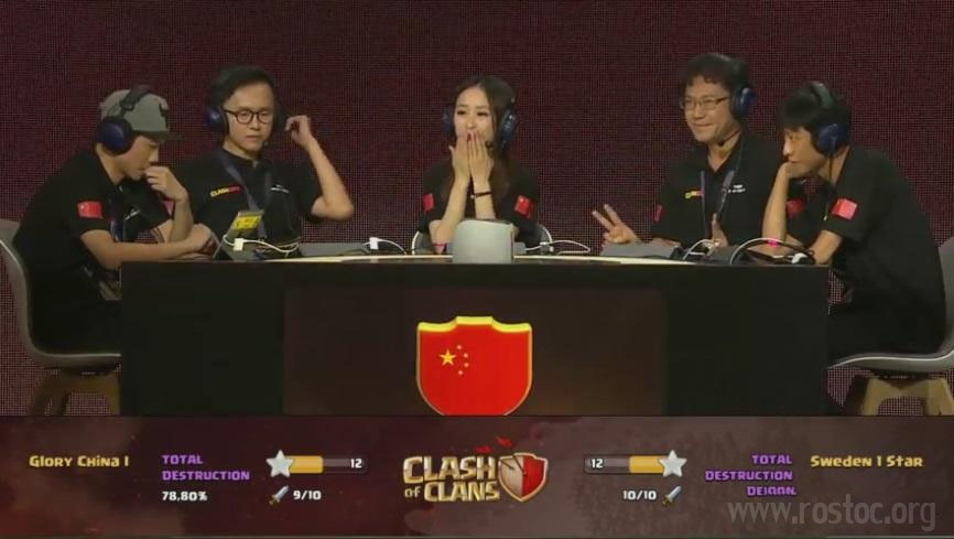 چین قهرمان مسابقات کلش کن شد!