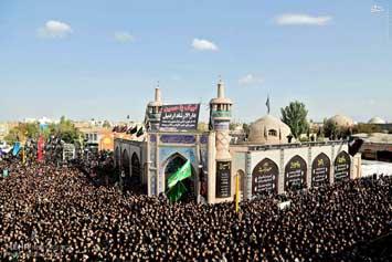 عکس/ مراسم عزاداری تاسوعای حسینی در اردبیل
