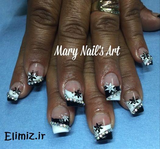 طراحی ناخن سیاهپوست