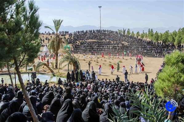 اجرای تعزیه عاشورا در محله بیده+تصویر