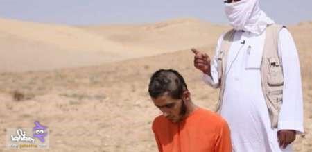 اعدام وحشیانه جوان سوری با تانک توسط داعش + عکس
