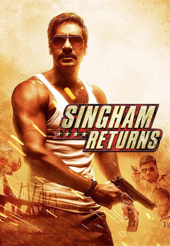 دانلود دوبله فارسی فیلم بازگشت سینگام Singham Returns 2014