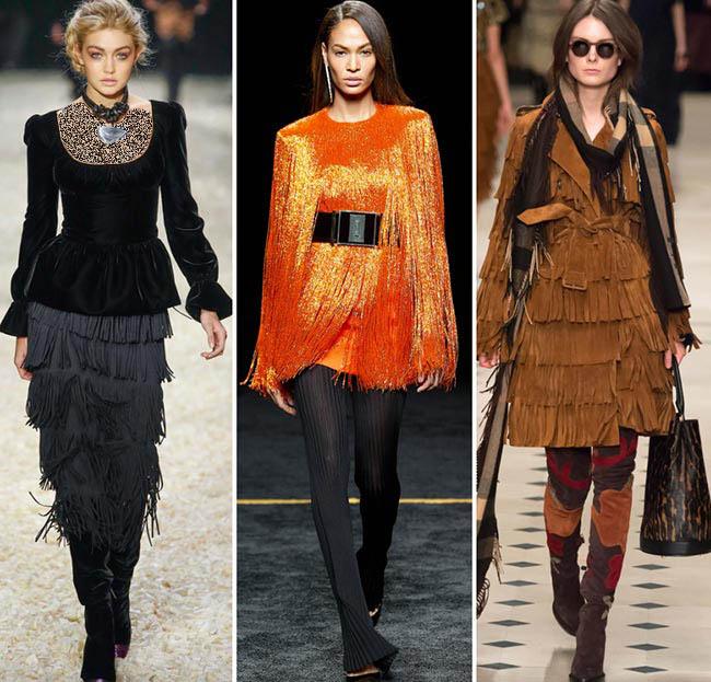 شيک ترين لباس های برتر هفته مد پاییزی و زمستانه 2016